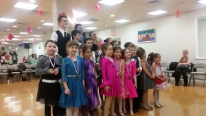 Dear, students! Great performance after many hours of dance lessons!!