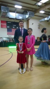 Maya and Anna-Vika winners in Silver and Open Silver division